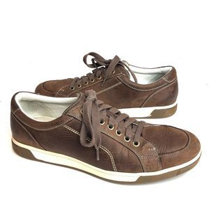 Cole Haan NikeAir Brown Leather Sneakers Shoes
